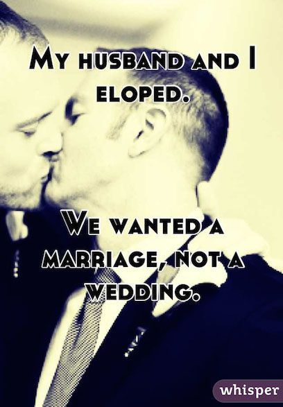 11 Confessions From Couples Who Eloped (Or Wished They Did) | The ...