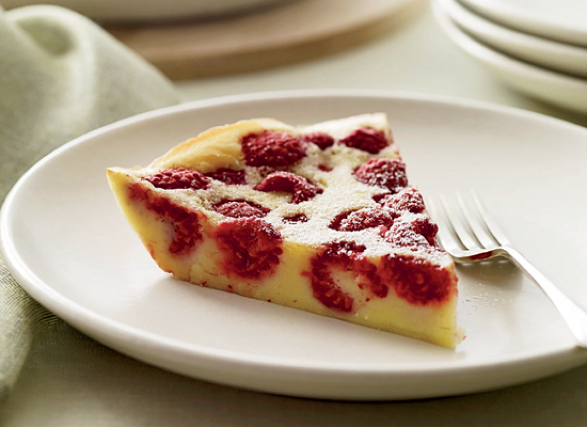 Get the Raspberry Clafoutis recipe