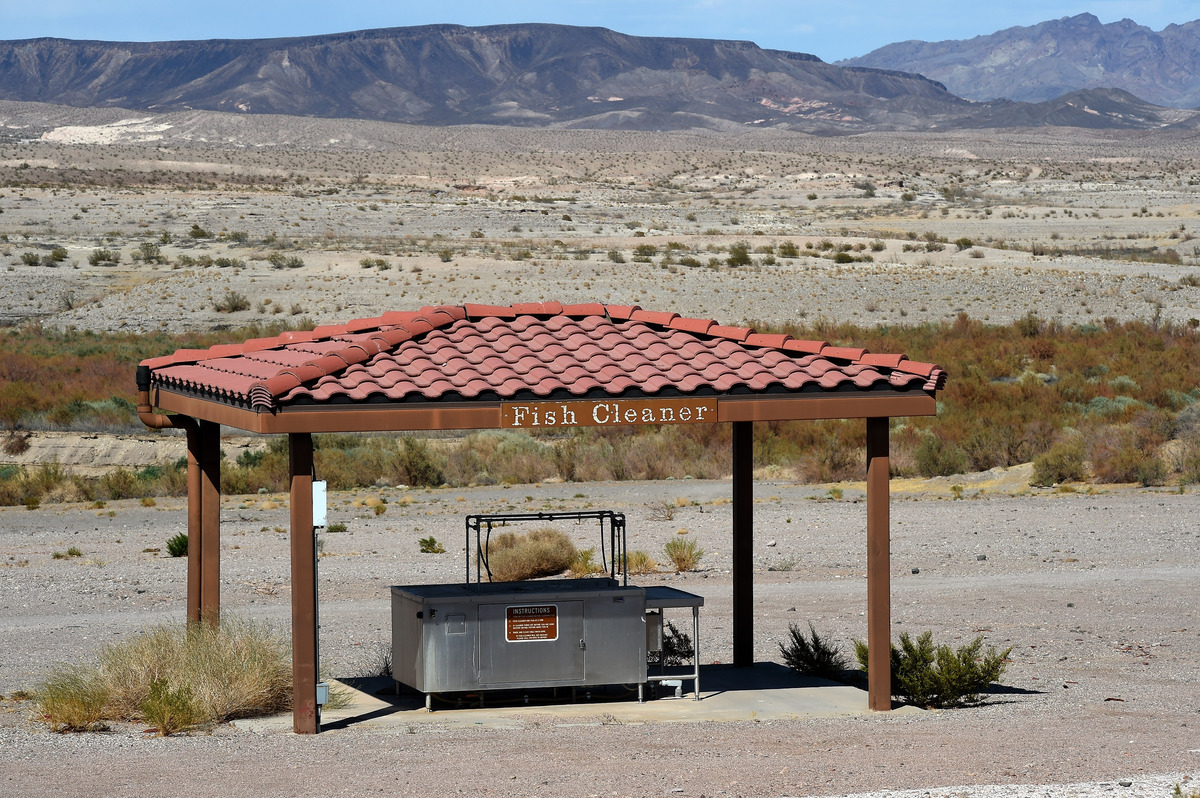 Tornado alley prog lake mead drops to lowest levels ever as for Fish cleaning station near me