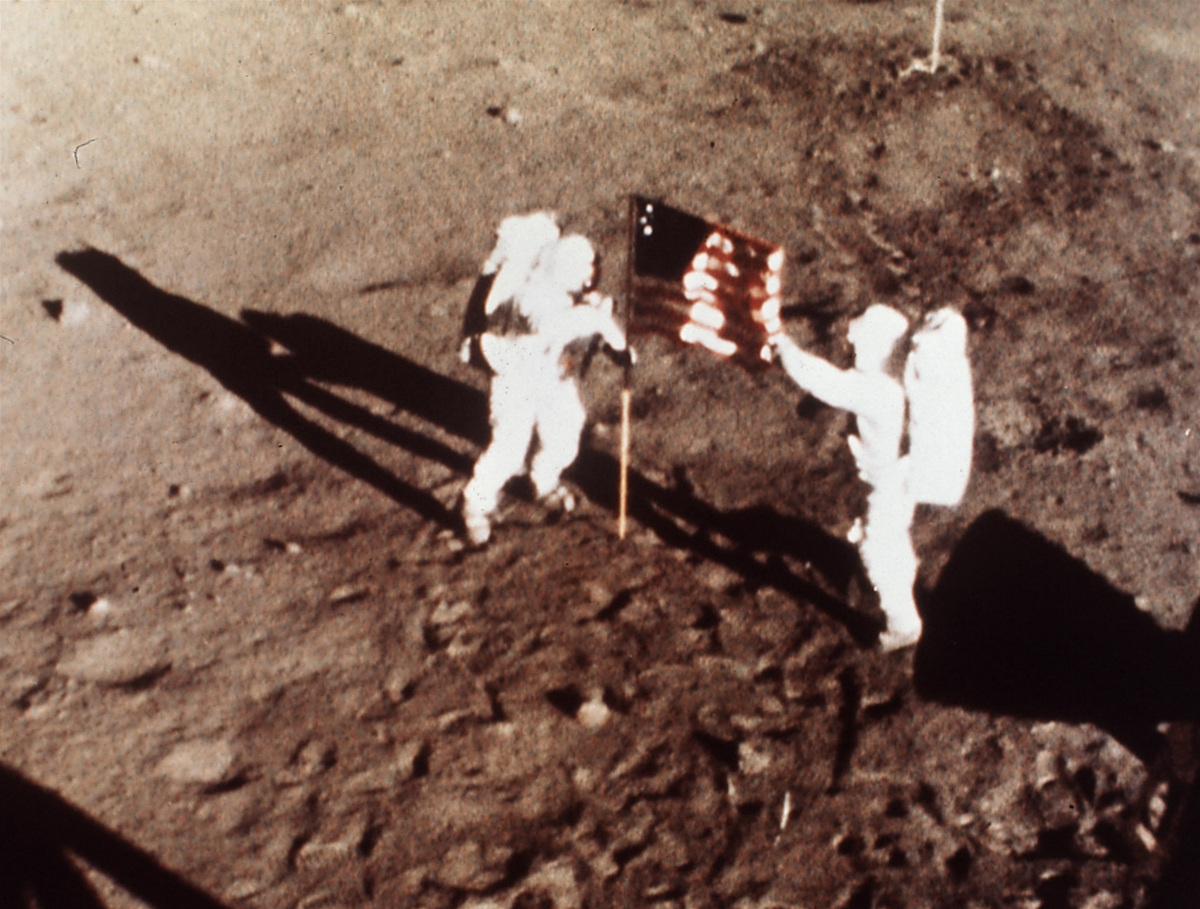 apollo 11 mission landing on the moon - photo #8