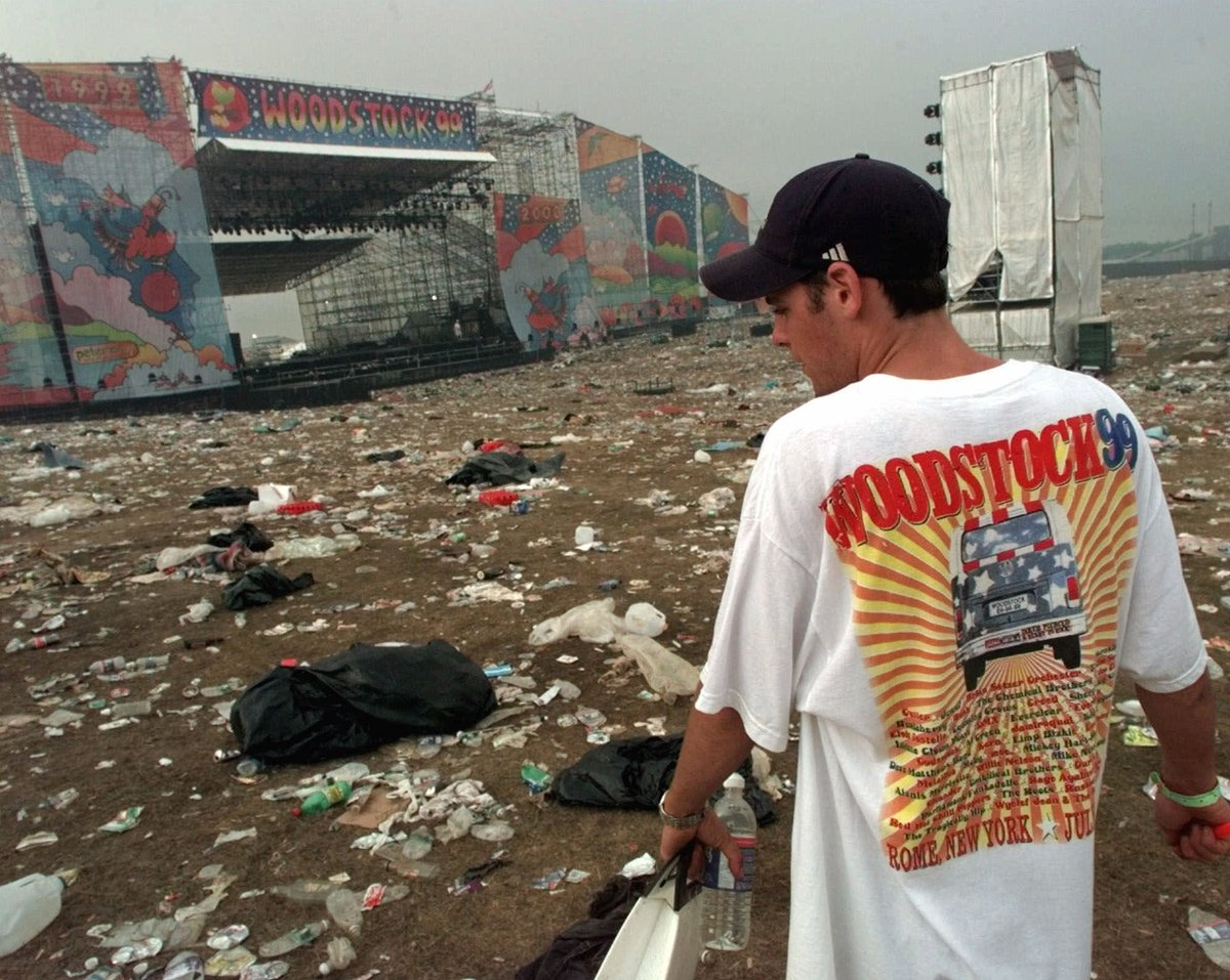 let s revisit the chaos of woodstock 99 the day the