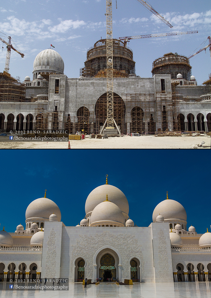 Here's How Abu Dhabi's Sheikh Zayed Grand Mosque Was Built