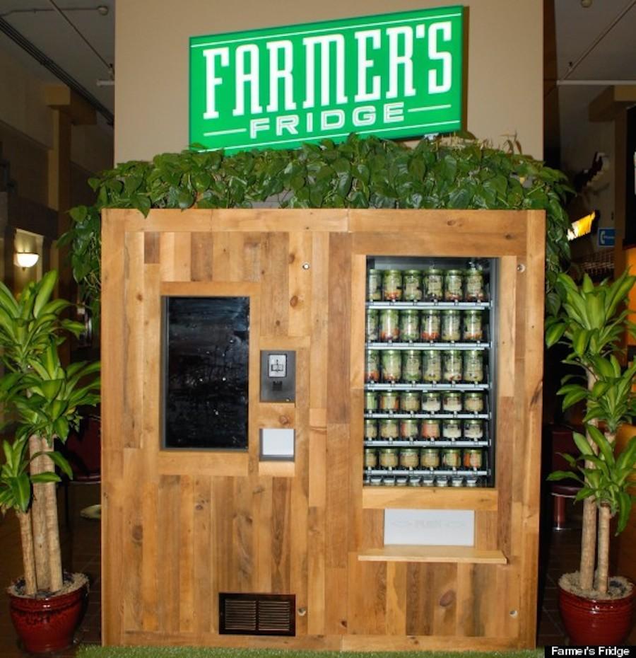 fresh salad vending machine
