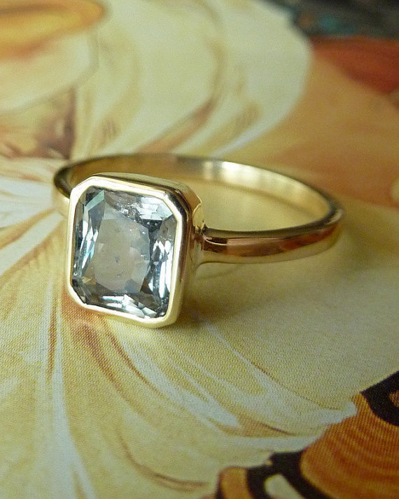 16 stunning alternatives to a diamond engagement ring - Alternative Wedding Rings