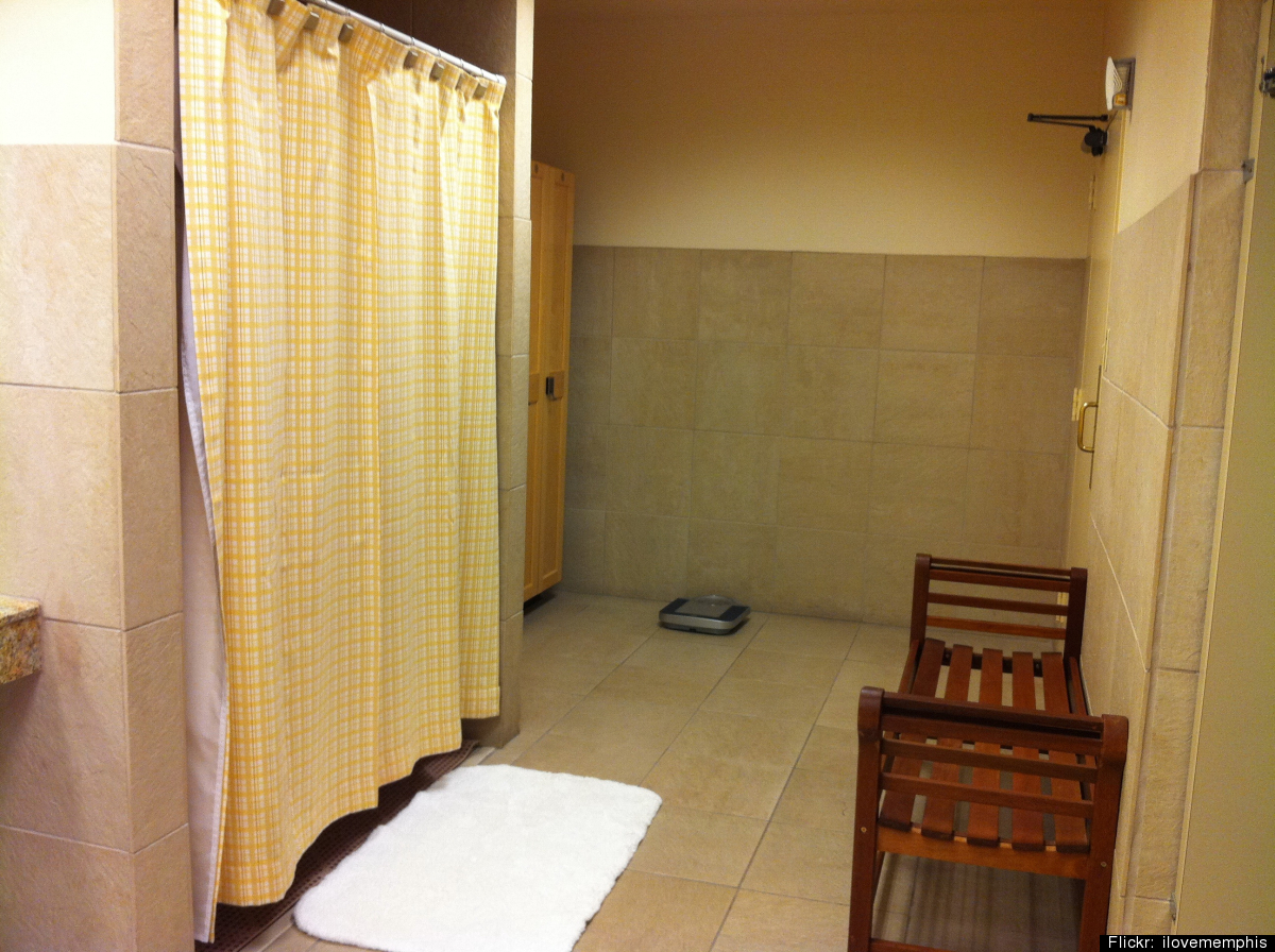 Mens shower room etiquitte adult
