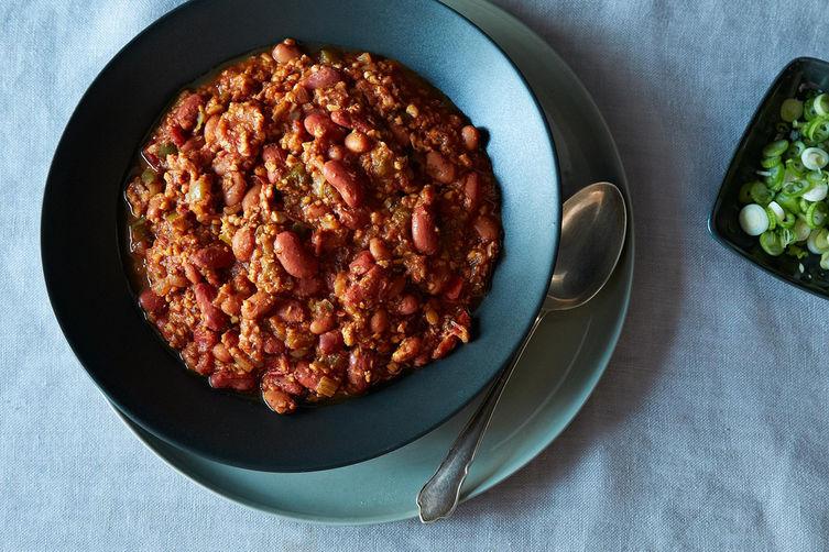 Tempeh Chili. Image: Food52