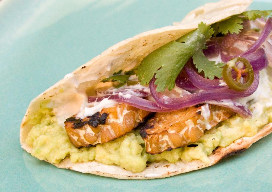 Tempeh Tacos. Image: Food52