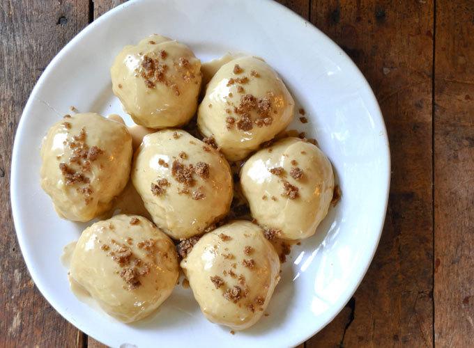 Get the Espresso Glazed Vegan Donuts Recipe from Minimalist Baker