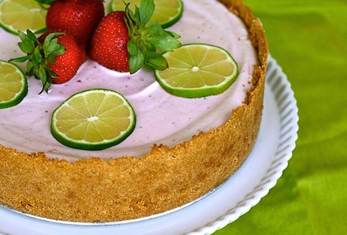 Get the Strawberry Margarita Pie recipe from Annie's Eats