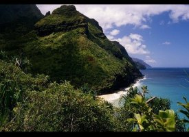 Kalalau Beach, Kauai, Hawaii, United States