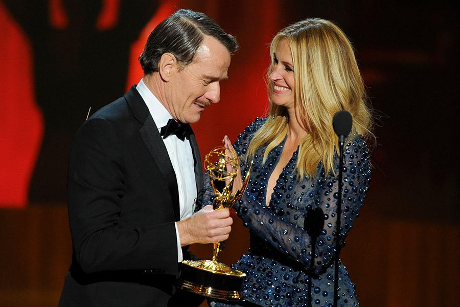 Images Benedict Cumberbatch, Martin Freeman, Steve Moffat All Win Emmy Awards For