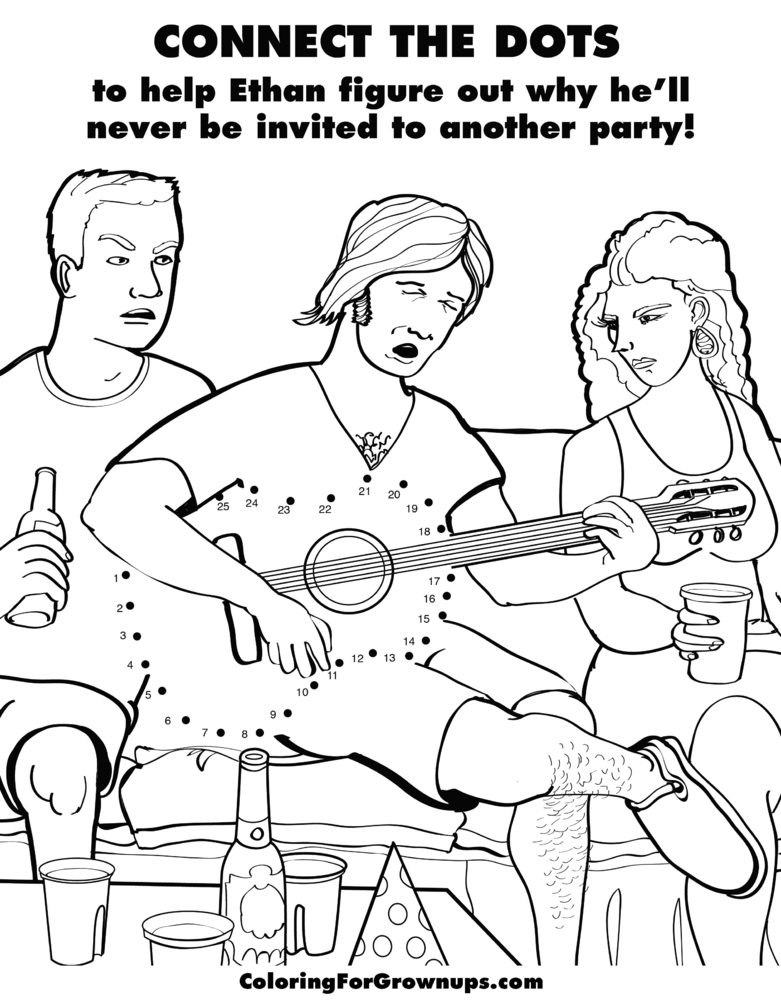 adult activity book