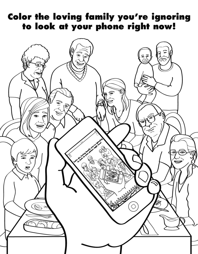 a coloring book for grown ups captures the beautiful horrors of adulthood huffpost
