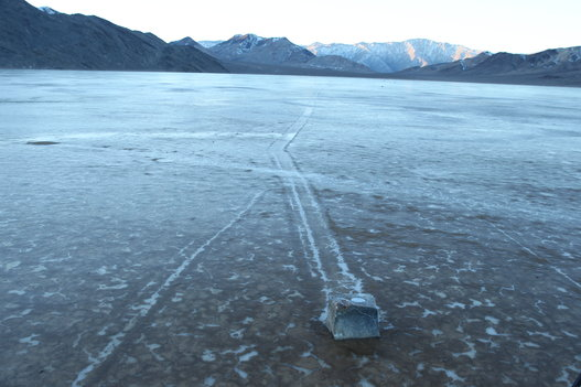 Mystery Of Death Valley's 'Sailing Stones' Has Finally Been Solved