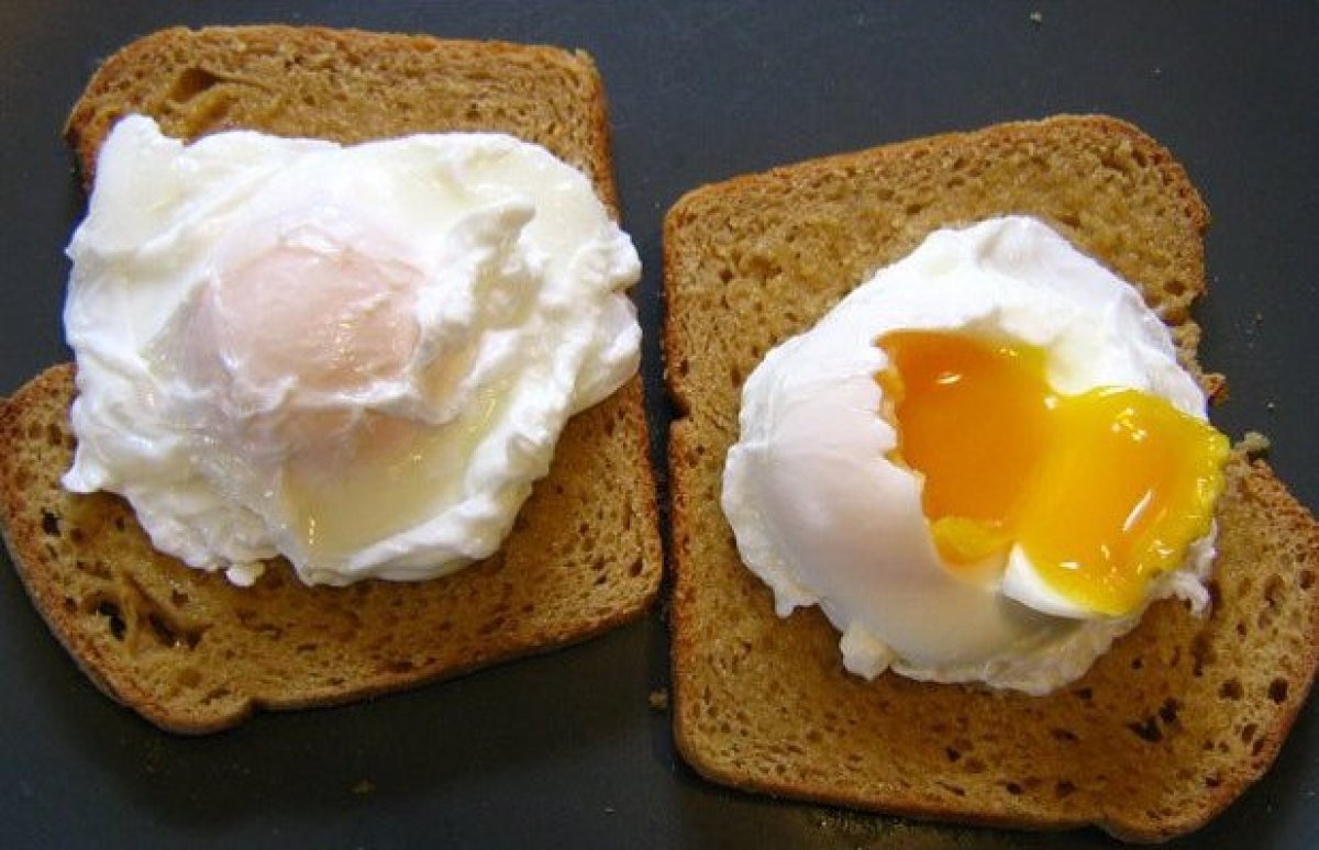 1 Poached Eggs