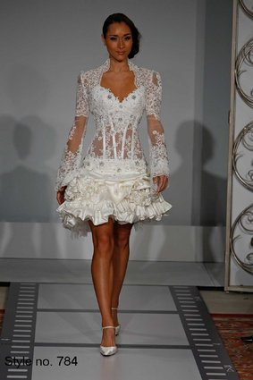 15 Of Pnina Tornai&39s Most Outrageous Wedding Dresses Ever