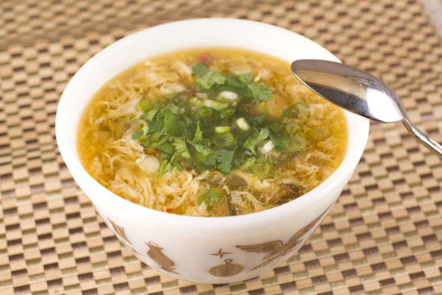 Chinese Spicy Hot And Sour Soup Recipe — Dishmaps