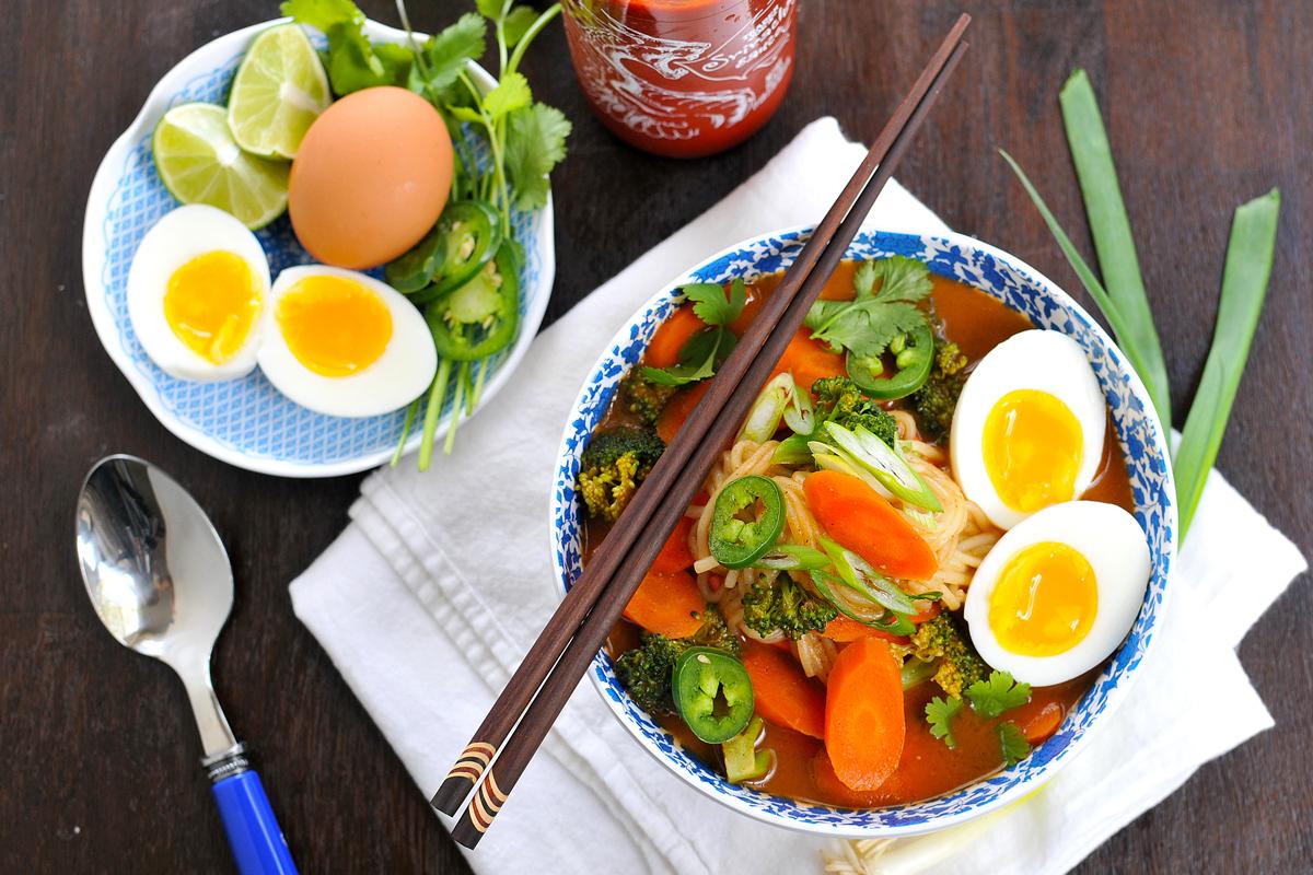 ramen simple recipe Meat 11 Ramen So The You Vegetarian Won't Bowls Divine, Miss