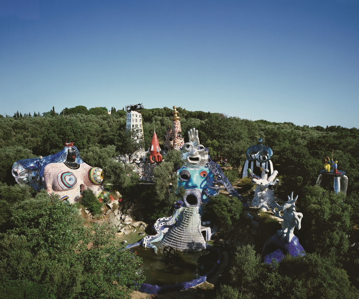 Jardin des Tarots Garrivichio Italie