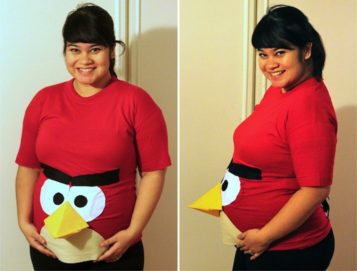 Halloween costumes for pregnant women that are fun easy for Dress your gadget