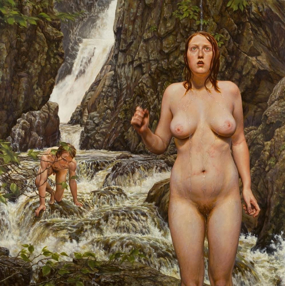 Naked Female Artist 33