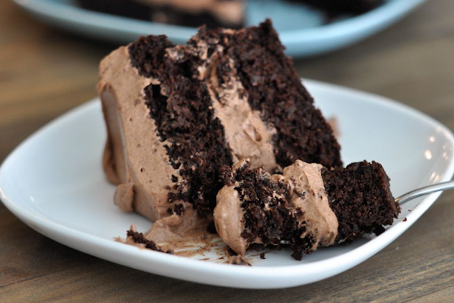 Chocolate cake without gluten