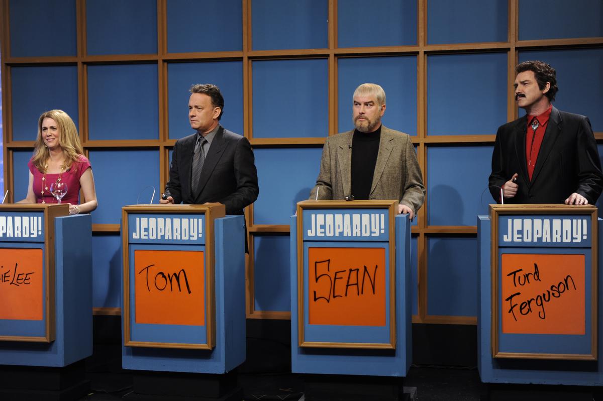 Celebrity jeopardy tom hanks full sketch