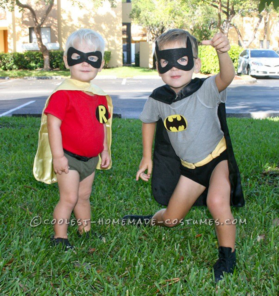 Halloween costumes for siblings that are cute creepy and for Homemade halloween costumes for little boys