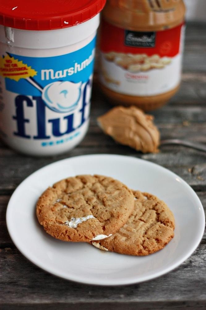 12 fluffernutter cookies