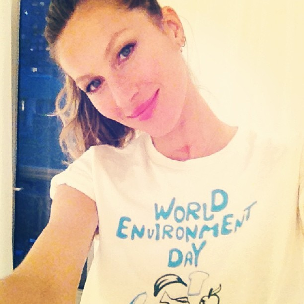 gisele bundchen shares cute photos of her kids cheering on