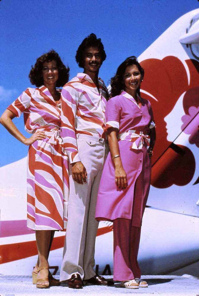 Hawaiian Airlines Has Had Some Awesome Flight Attendant Uniforms ...