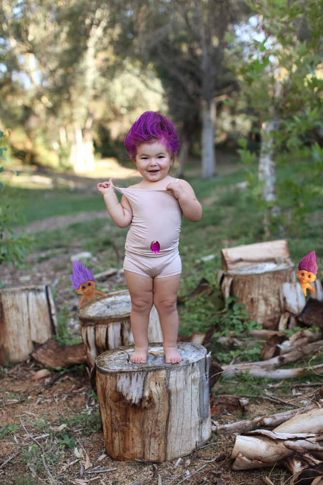 meet willow the 2 year old with a lifetimes worth of perfect halloween costumes