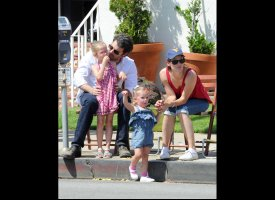slide 37732 317637 small PHOTO: Gwen Stefani, Kids Visit Travel Town Museum