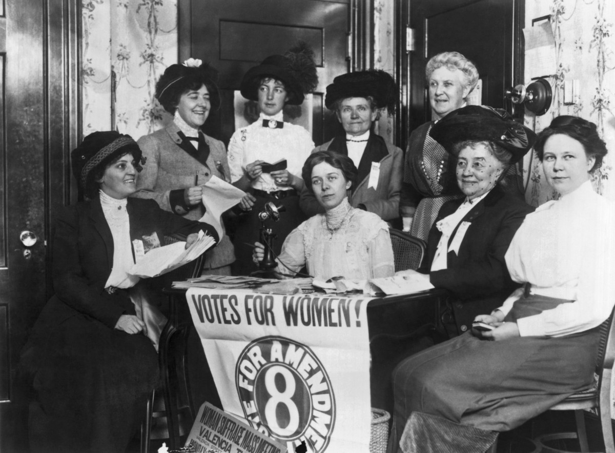 the role of susan b anthony in the fight for womens right to vote Womens rights convention susan b anthony and elizabeth cady stanton embarked on a all citizens the right to vote regardless of gender anthony and at least.