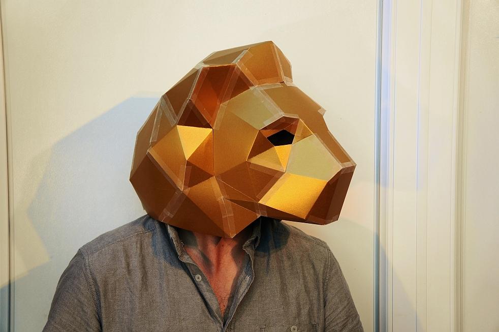 Геометрическая маска