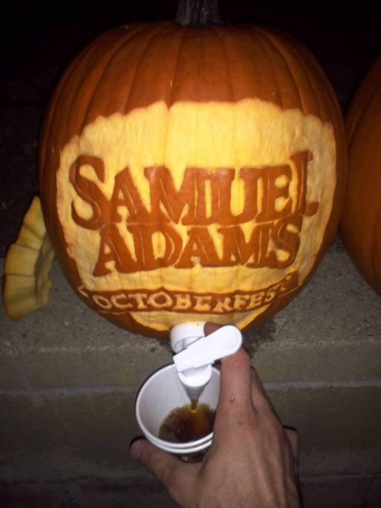 12 creative bonkers and inappropriate halloween pumpkins Pumpkin carving beer