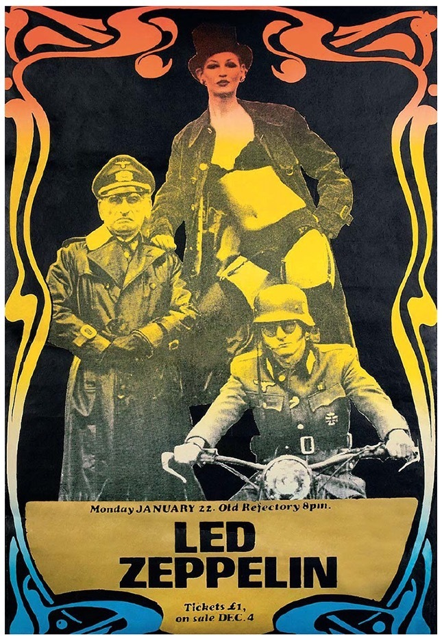 10 Wonderfully Retro Led Zeppelin Posters Every Rock Fan Will Love Huffpost Uk