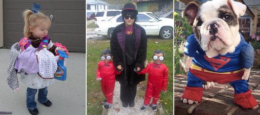 grupos ideas para familias y grupos de amigos fotos celebrities los famosos se disfrazan por halloween fotos de actualidad disfraces originales
