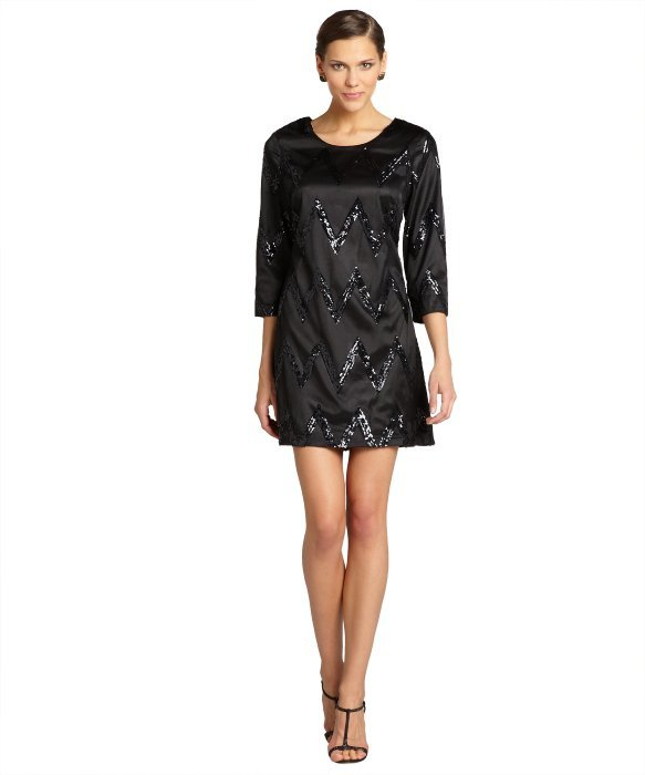 Beyonc 233 Stuns In 130 Topshop Black Sequin Dress And So