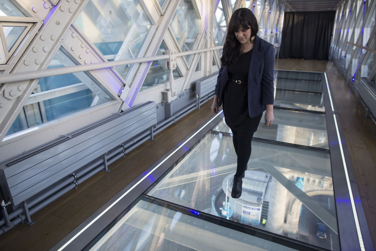 Tower Bridge Glass Walkway Gives Incredible New View Of