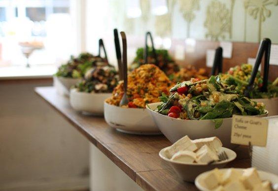 London 39 s best vegetarian restaurants including mildreds for Bar food vegetarian