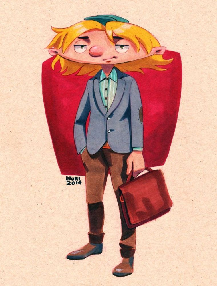 See What Characters From 'Hey Arnold!' Would Look Like As ...