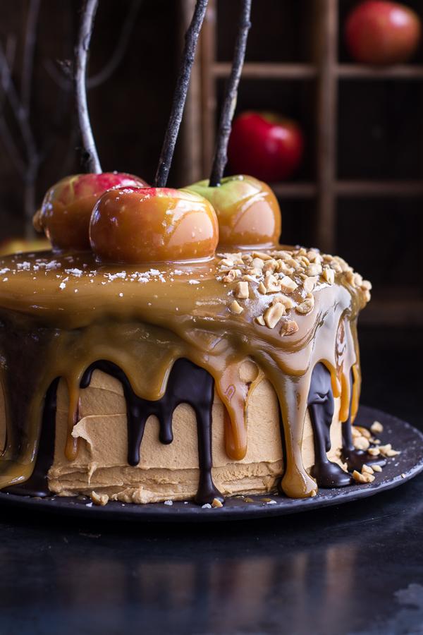 Best Ever Caramel Apple Cake