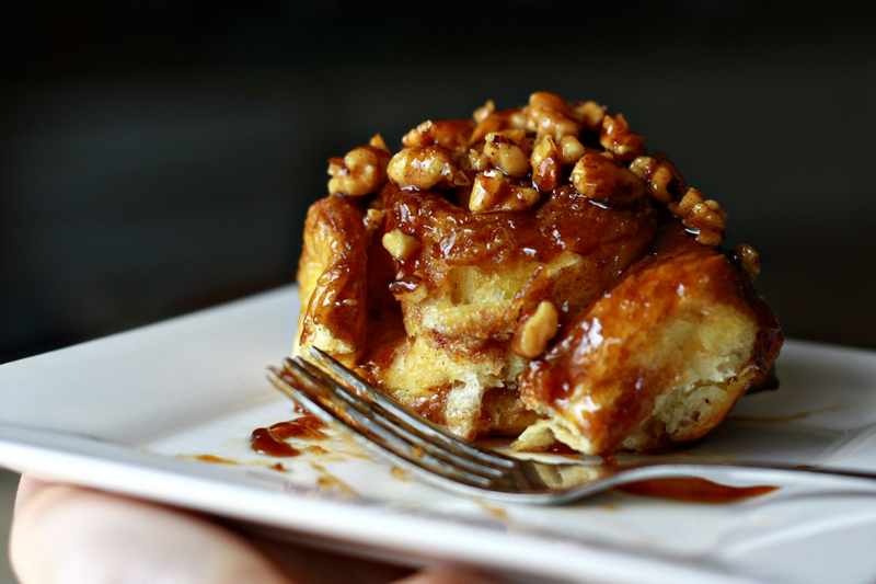 Get the Caramel Brioche Sticky Buns recipe from Noshings