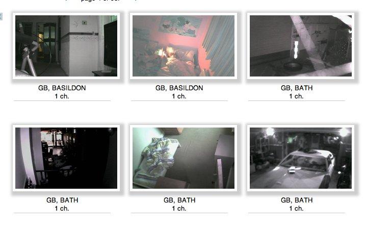 Русский сайт показывает изображения с тысяч камер в гостиных, спален, садов и офисов
