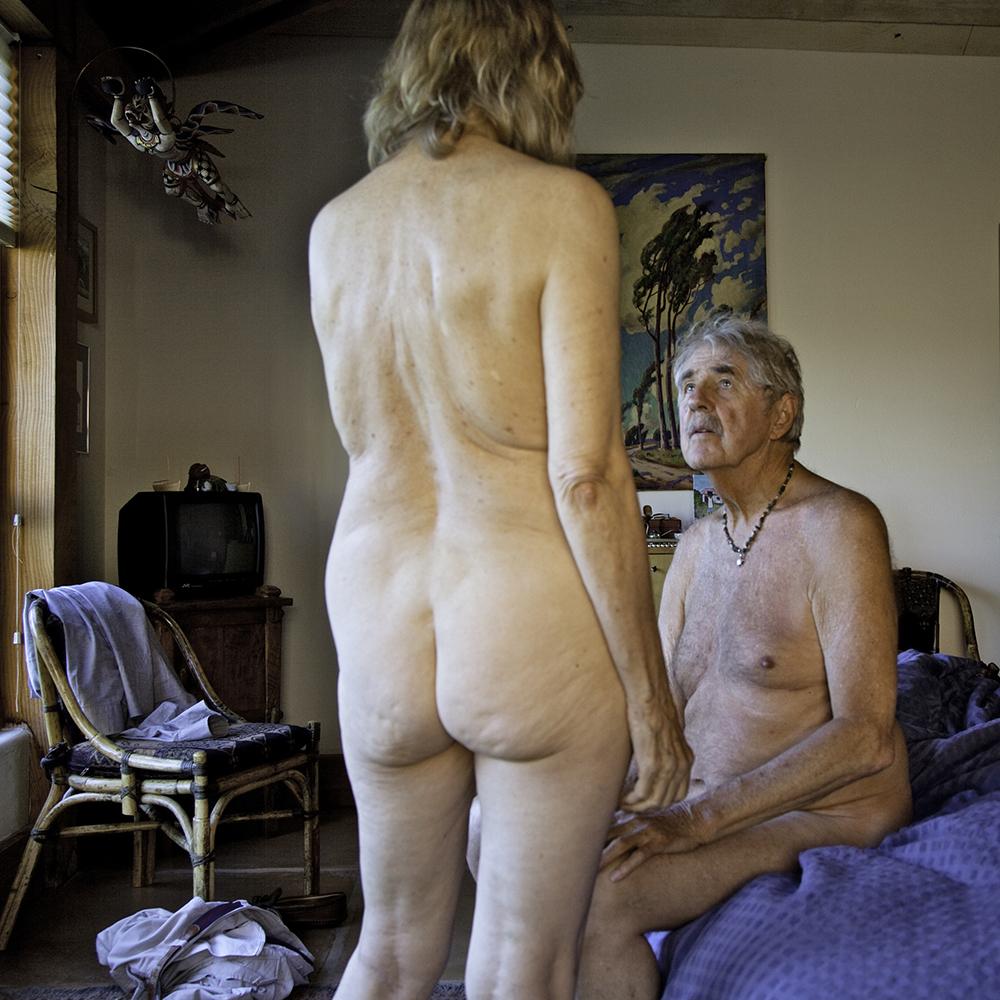 Hot nude blonde men