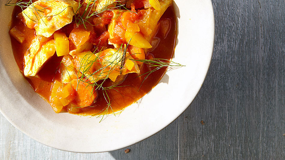 How to make a deliciously creamy soup without a drop of for Creamy fish stew