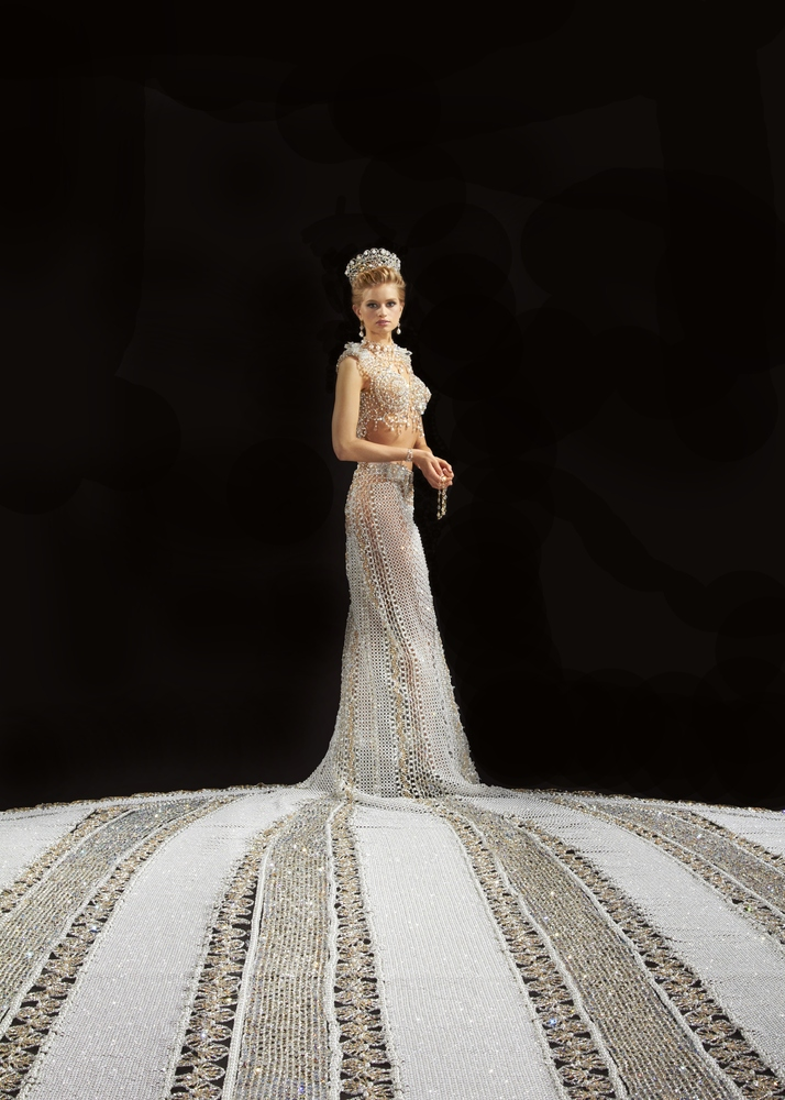 gail kim wedding dress - photo #11