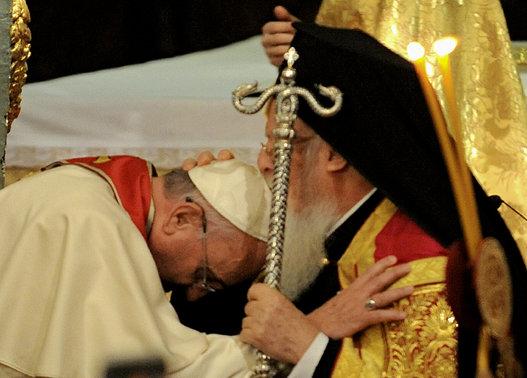 Bartholomew blesses Francis