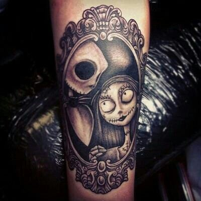 20 'Nightmare Before Christmas' Tattoos You'll Totally Want